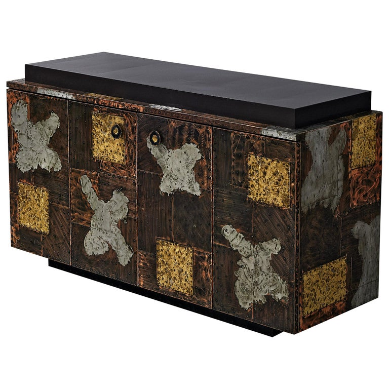 Paul Evans for Directional 'Patchwork' Sideboard For Sale