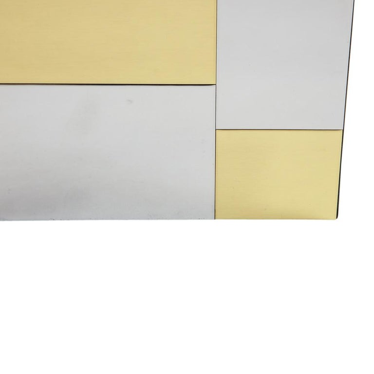 Paul Evans Ice Bucket, Cityscape, Brass, Chrome, Glass For Sale 3