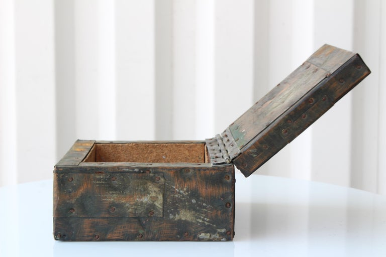 Paul Evans Lidded Box, U.S.A, 1965 For Sale 5