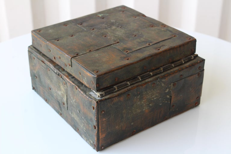 Paul Evans Lidded Box, U.S.A, 1965 For Sale 7
