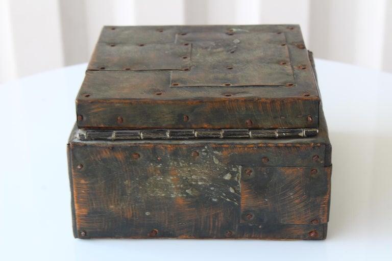 Paul Evans Lidded Box, U.S.A, 1965 For Sale 8