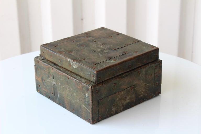 American Paul Evans Lidded Box, U.S.A, 1965 For Sale