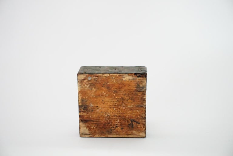 Woodwork Paul Evans Patchwork Box For Sale