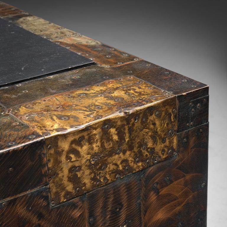 Paul Evans Patchwork Cabinet PE-302 For Sale 1