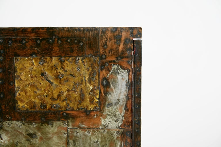 Paul Evans Patchwork Copper Cabinet with Slate Top for Directional, 1967 For Sale 11