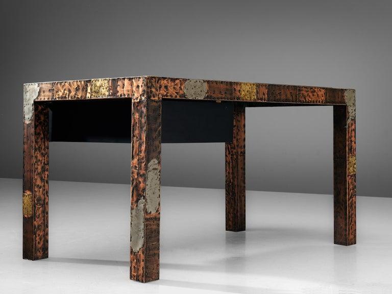 Paul Evans Patchwork Desk, 1970s For Sale 1