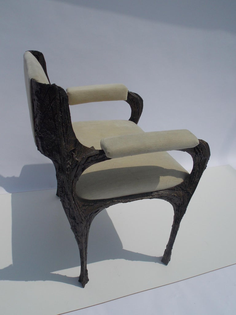 Mid-20th Century Paul Evans PE-106 Upholstered Chairs For Sale