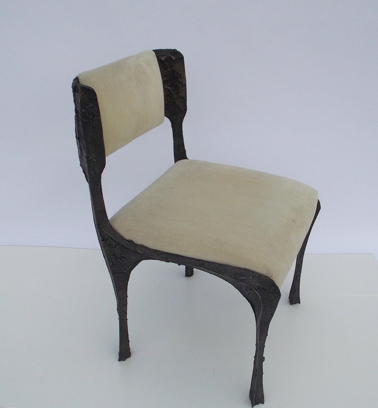 Paul Evans PE-106 Upholstered Chairs For Sale 2