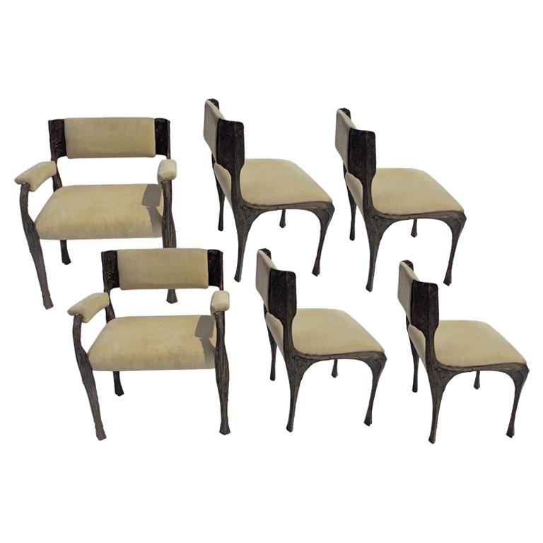 Paul Evans PE-106 Upholstered Chairs For Sale