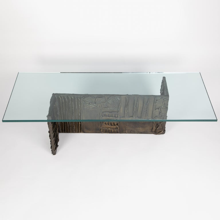 Paul Evans rectangular coffee table from the