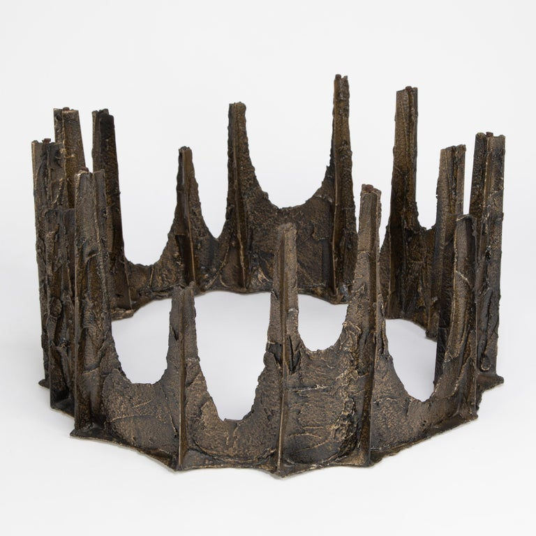 Paul Evans Sculpted Bronze Stalagmite Coffee Table, 1969 For Sale 1