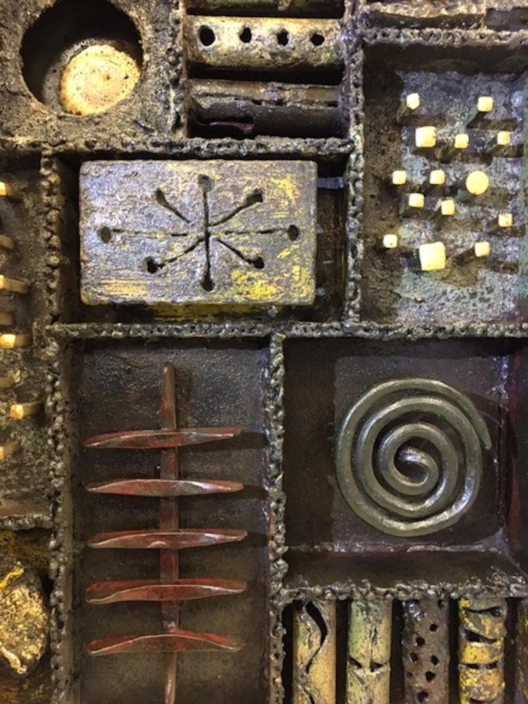 Paul Evans Sculpture Front Cabinet For Sale 3