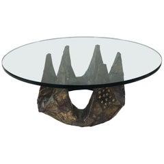 Paul Evans Studio Patch Work Welded Coffee Table