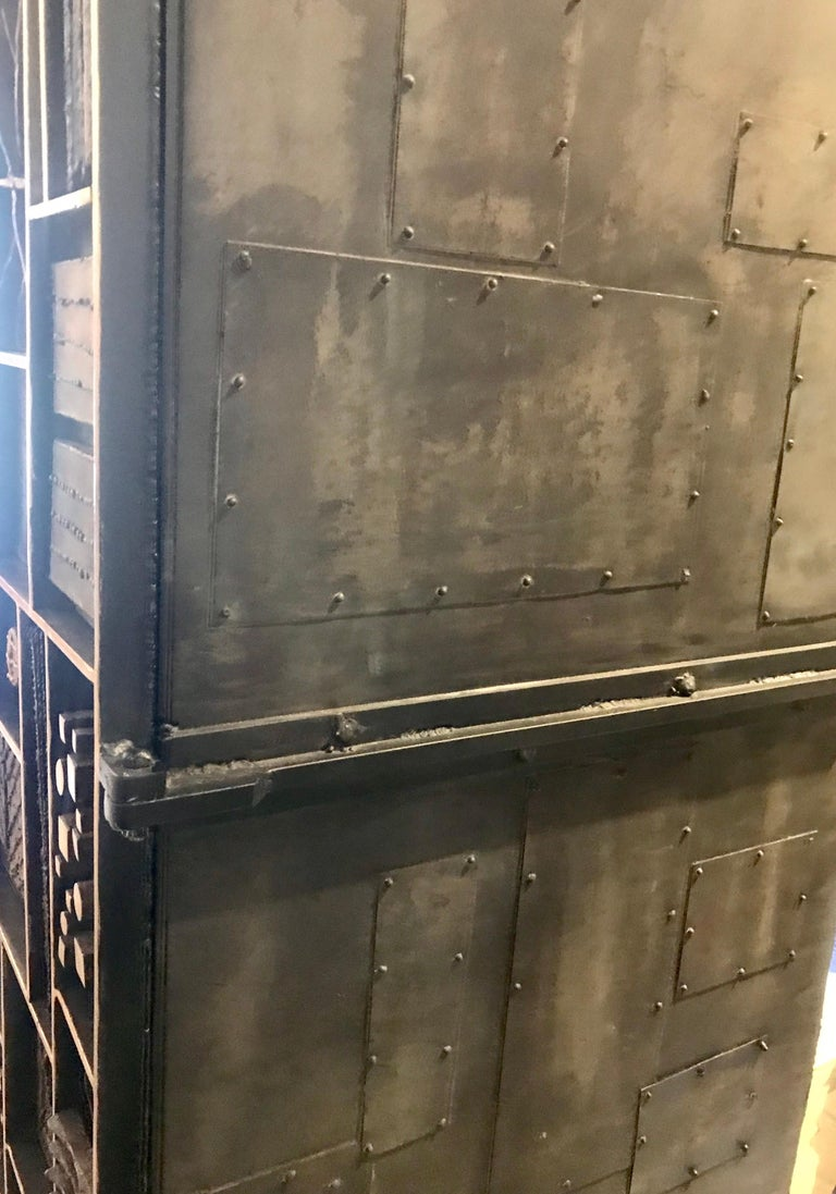 American Paul Evans Style Cabinet/Dry Bar For Sale
