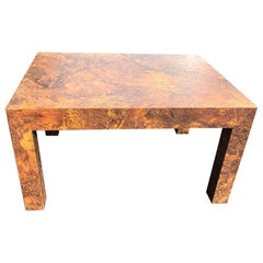 Paul Evans Style Parsons Coffee or Side Table