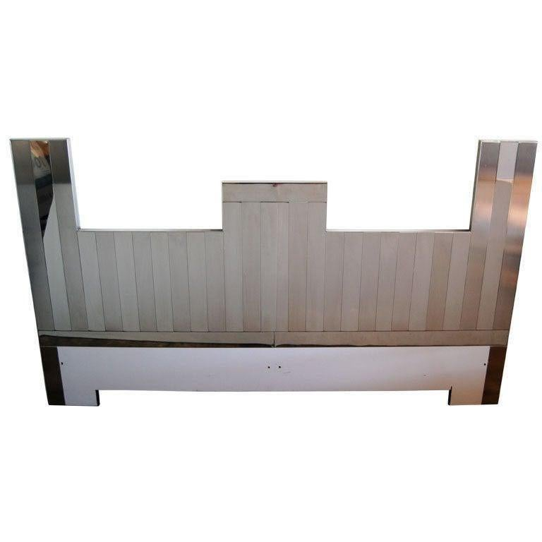"Paul Evans Vertical ""Cityscape"" Headboard For Sale"