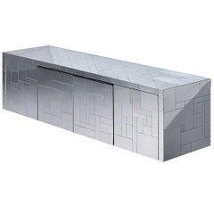 Paul Evans Wall-Mounted Cityscape Sideboard