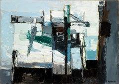 Atlantic Island - 20th Century, Oil on canvas by Paul Feiler