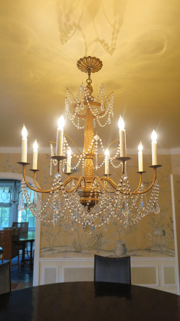 Paul Ferrante Chandelier In Good Condition For Sale In New York, NY