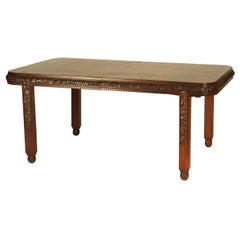 Paul Follot Classic French Art Deco Dining Table