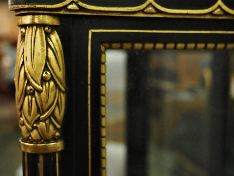 Paul Follot Display Cabinet/Vitrine In Excellent Condition For Sale In Philadelphia, PA