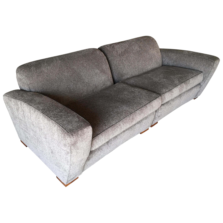 Paul Frankl Art Deco Speed Sectional Sofa, circa 1940