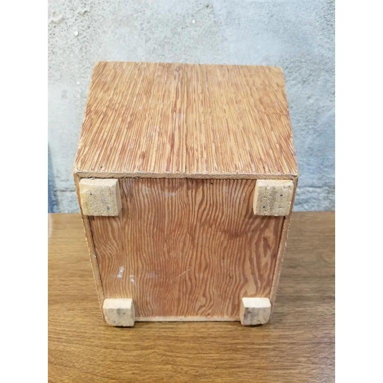Paul Frankl Attributed Waste Basket For Sale 1