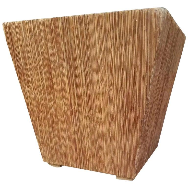 Paul Frankl Attributed Waste Basket For Sale