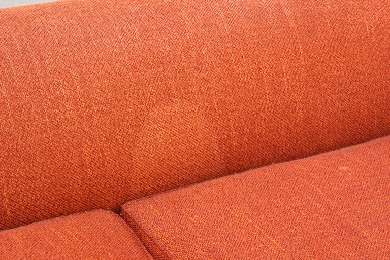 Mid-20th Century Paul Frankl Club Sofa, Original 1940s For Sale