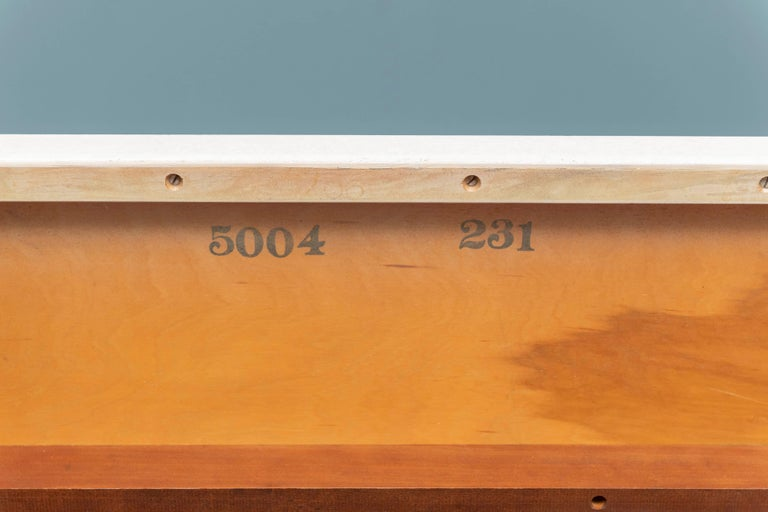 Mid-20th Century Paul Frankl Coffee Cork Top Low Table or Bench For Sale