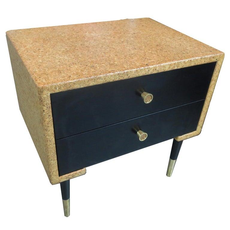 American Paul Frankl Cork Bedroom Set for Johnson Furniture For Sale