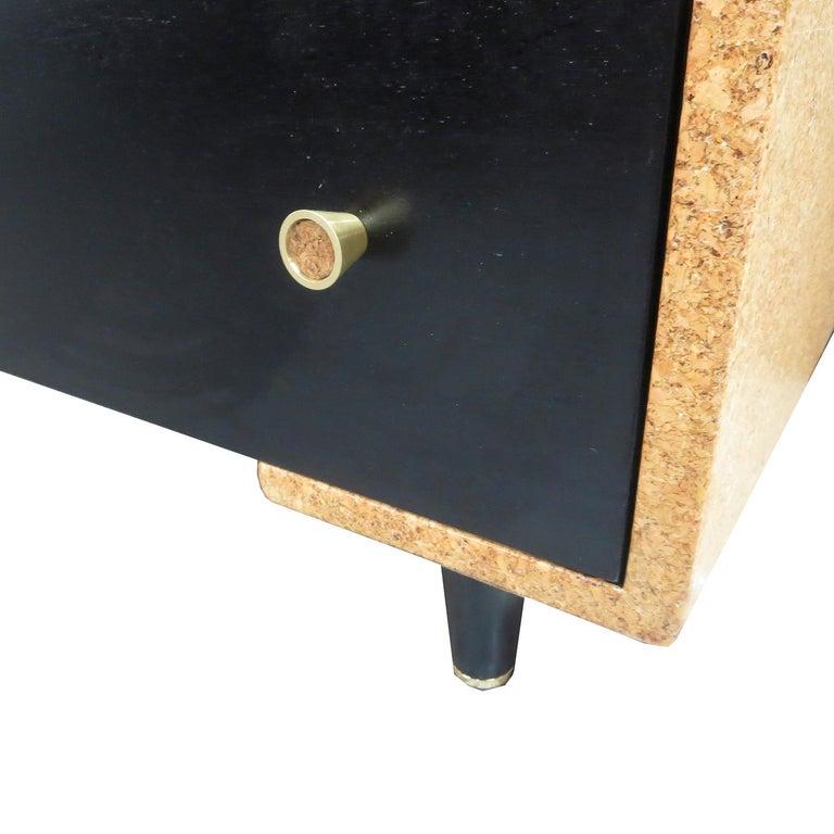 Mid-20th Century Paul Frankl Cork Bedroom Set for Johnson Furniture For Sale