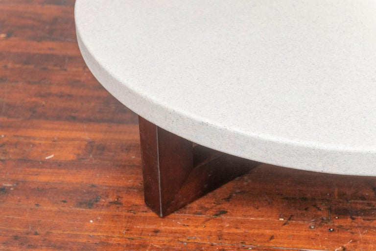 Mid-Century Modern Paul Frankl Cork Coffee Table For Sale