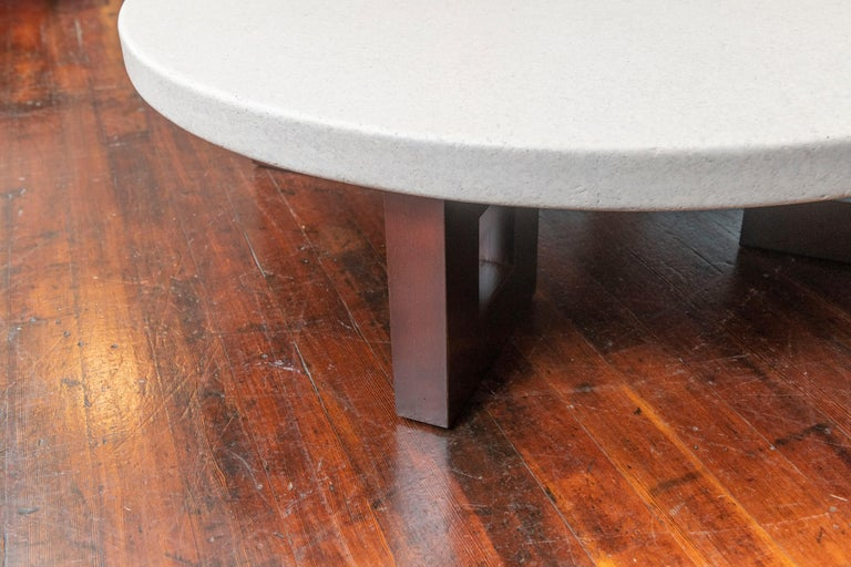 American Paul Frankl Cork Coffee Table For Sale