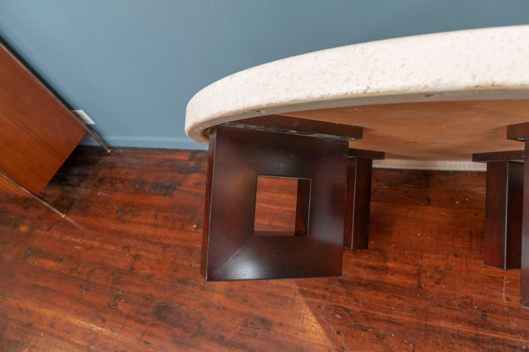 Paul Frankl Cork Coffee Table In Excellent Condition For Sale In San Francisco, CA