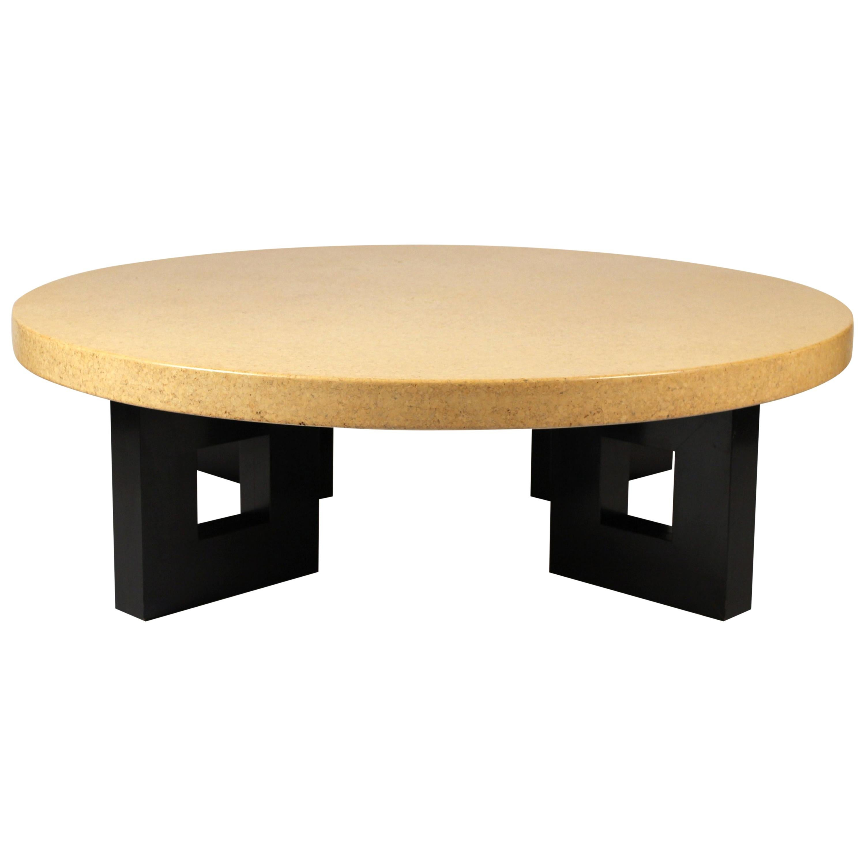 Paul Frankl Cork Coffee Table