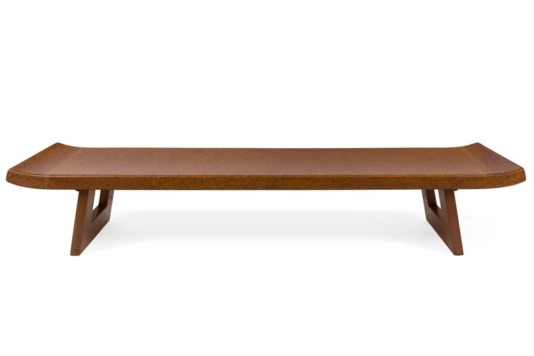 One of Frankl's iconic designs with an Asian influence. Its length is striking and its simple lines make it a very versatile design.