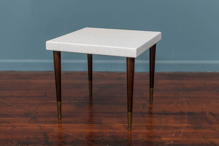 American Paul Frankl Cork Side Tables For Sale