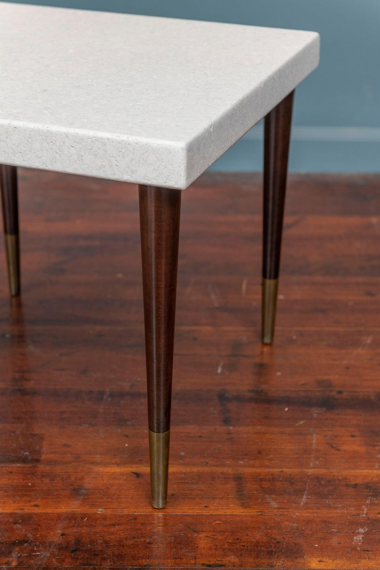 Paul Frankl Cork Side Tables In Good Condition For Sale In San Francisco, CA