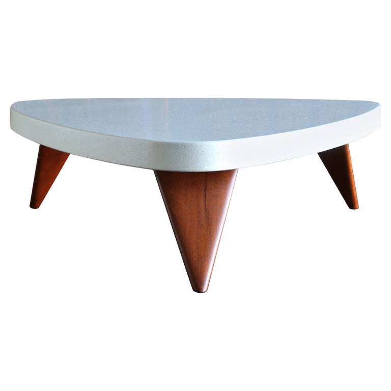 Paul Frankl Cork Top Coffee Table for Johnson Furniture, circa 1955 For Sale