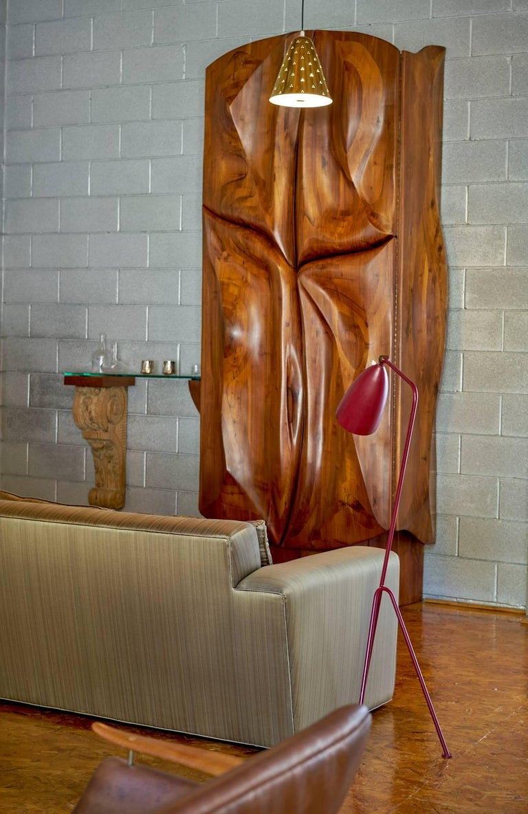 Mid-Century Modern Paul Frankl Custom Sofa, Pair Available, 1940s For Sale