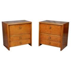 Paul Frankl Design for Johnson Furniture Night Stands End Tables
