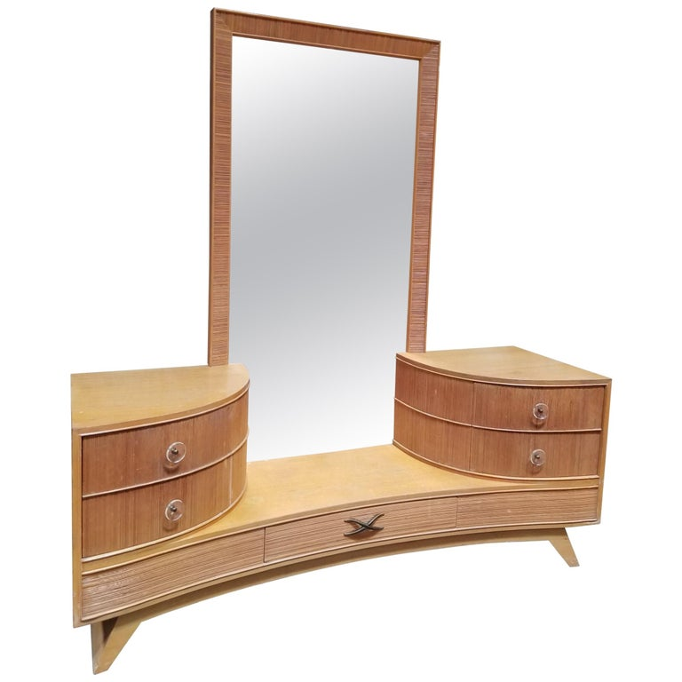 Paul Frankl Drop-Well Dressing Vanity