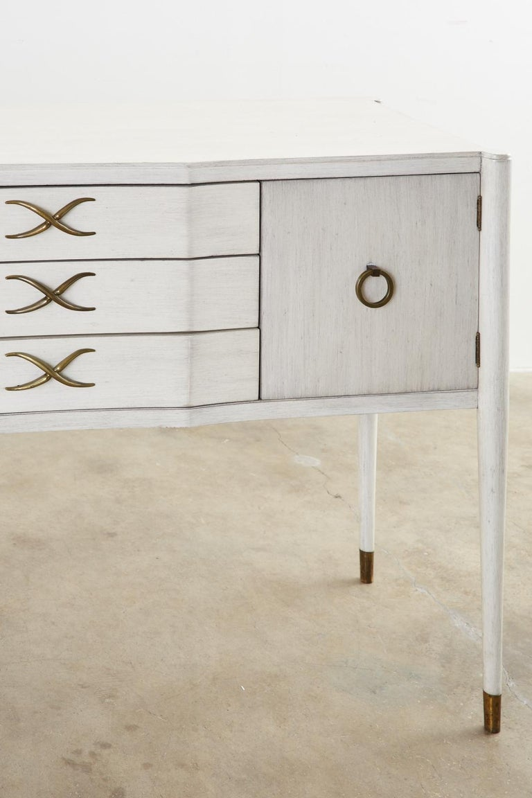Paul Frankl for Brown-Saltman Lacquered Sideboard Credenza For Sale 2