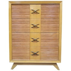 Paul Frankl for Brown-Saltman Tall Highboy Dresser