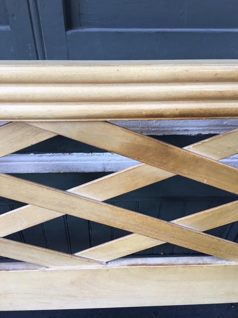 Mid-Century Modern Paul Frankl for Johnson Furniture King Headboard For Sale