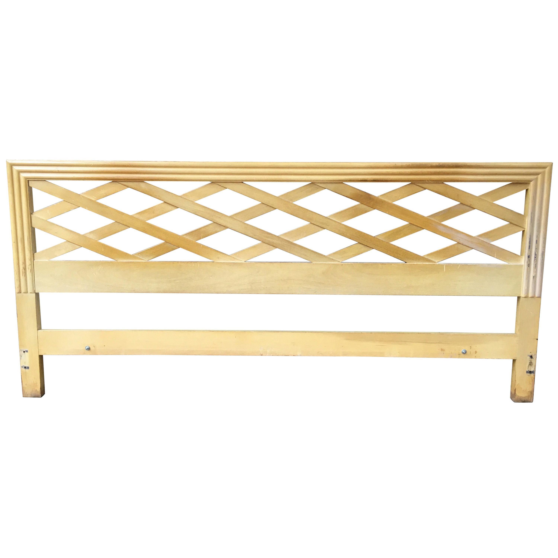 Paul Frankl for Johnson Furniture King Headboard