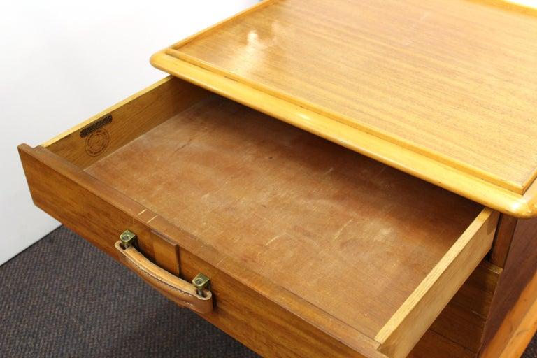 Paul Frankl for Johnson Furniture Modern 'Station Wagon' Nightstands For Sale 3