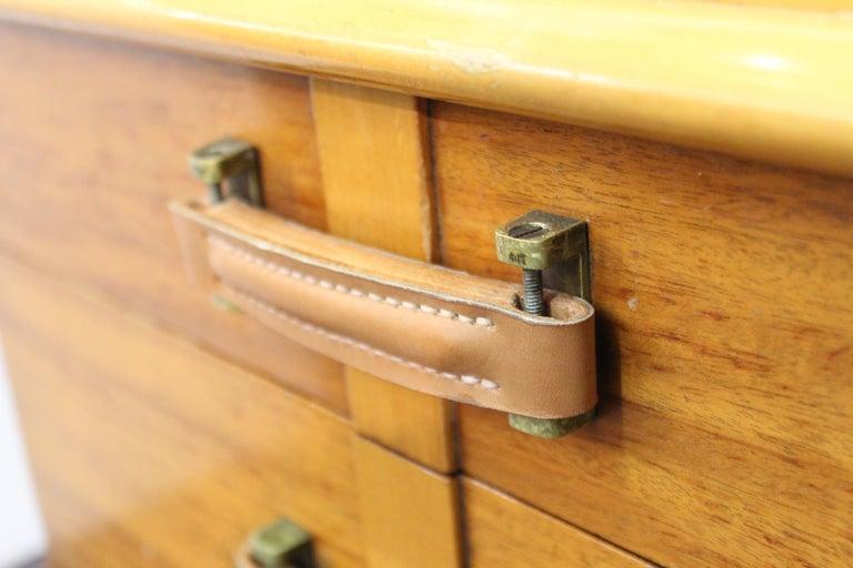 Paul Frankl for Johnson Furniture Modern 'Station Wagon' Nightstands For Sale 5