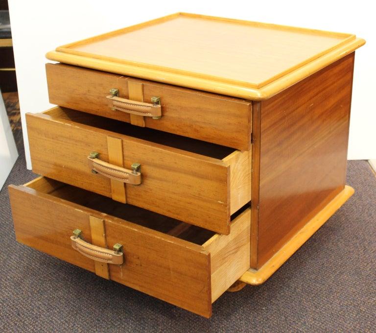 Paul Frankl for Johnson Furniture Modern 'Station Wagon' Nightstands For Sale 1